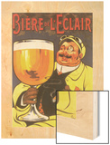 Biere de L'Éclair Wood Print