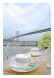 Dream Cafe Bay Bridge 2 Prints by Alan Blaustein