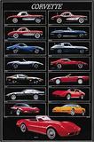 Panoramica Corvette Arte di Unknown,