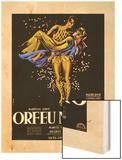 Black Orpheus Wood Print