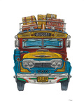 Colombian Bus Prints by Barry Goodman