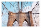 Brooklyn Bridge Art by Alan Blaustein