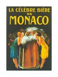 La Celebre Biere de Monaco Metal Print
