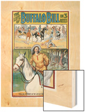 The Life of Buffalo Bill Wood Print