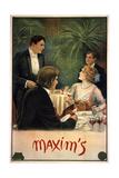 Maxim's Metal Print