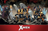 X-Men- Past Present & Future Teams Posters