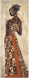 Femme Africaine II Print by Jacques Leconte