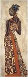 Femme Africaine II Planscher av Jacques Leconte