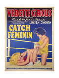 Catch Feminin Metal Print