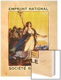 1920 Emprunt National (Lucien Metuck) Wood Print