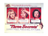 Three Secrets Metal Print