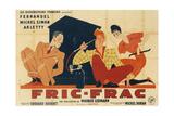 Fric-Frac Metal Print