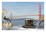 Dream Cafe Golden Gate Bridge 87 Prints by Alan Blaustein