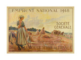 1918 Emprunt National (B. Chavannaz) Metal Print