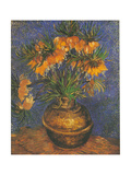 Fritillaires Metal Print by Van Gogh Vincent