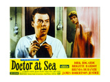 Doctor at Sea Lærredstryk på blindramme