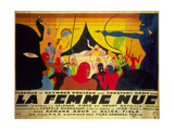 La Femme Nue Metal Print