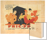 Fric-Frac Wood Print