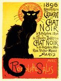 Chat Noir Posters by  Steinlen