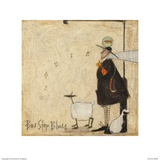 Bus Stop Blues Posters by Sam Toft