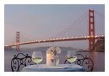 Dream Cafe Golden Gate Bridge 77 Prints by Alan Blaustein