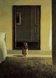 Michael Sowa - Giyinen Tavşan (Bunny Dressing) - Reprodüksiyon