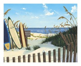Beach Access Poster by Scott Westmoreland