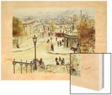 Cabourc Wood Print