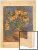 Fritillaires Wood Print by Van Gogh Vincent