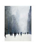 Blizzard - 5th Avenue Prints by Jon Barker