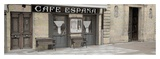 Cafe Espana Pano 1 Art by Alan Blaustein