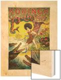 Koringa Wood Print