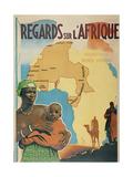 Regards Sur I'Afrique Metal Print
