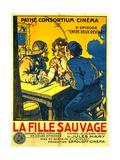 La Fille Sauvage Metal Print