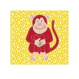 Cheeky Monkey Posters by Catherine Colebrook