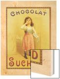 Chocolat Suchard Wood Print