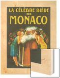 La Celebre Biere de Monaco Wood Print