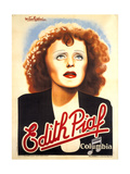 Edith Piaf Metal Print