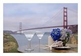 Dream Cafe Golden Gate Bridge 63 Poster by Alan Blaustein