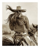 Cowgirl Art by Lisa Dearing