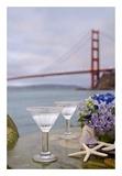 Dream Cafe Golden Gate Bridge 64 Prints by Alan Blaustein