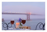 Dream Cafe Golden Gate Bridge 57 Posters by Alan Blaustein