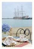 Dream Cafe Hyde St Pier 30 Prints by Alan Blaustein