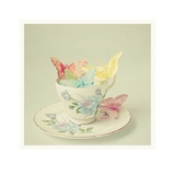 Cup of Butterflies Prints by Cassia Beck