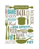 Culinary Love 1 Posters by Leslie Fuqua