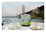 Dream Cafe Golden Gate Bridge 5 Posters by Alan Blaustein