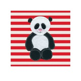 Cute Panda Art by Catherine Colebrook