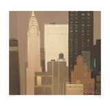 Chrysler Building Art by Xavier Carbonell