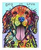 Dog is Love Plakater av Dean Russo