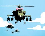 Banksy - Alçak Motosikletler (Choppers) - Poster